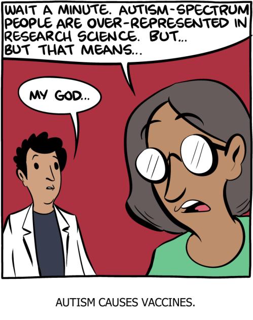 Autism causes vaccines